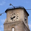 This clock tower is atop the old CP Rail station in Moose Jaw. Can you find the error in the roman numerals on the clock face?