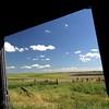 window view, Sask farm view