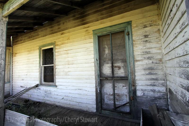 screen door... how many times has this door slammed shut behind busy running kids?
