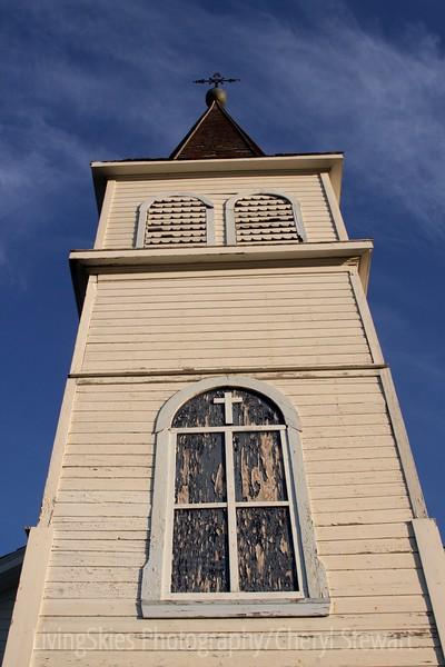 Church, rural Sask