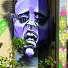 Graffiti Regina, doorway art,