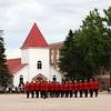 RCMP  Chapel, Oldest building in Regina,  Sunset Ceremony