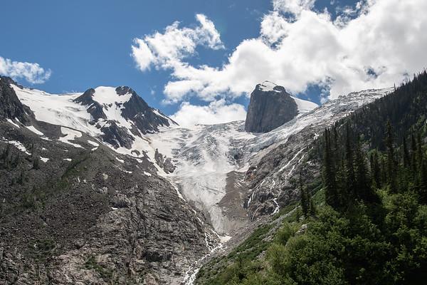 Dramatic Glacier in Canada