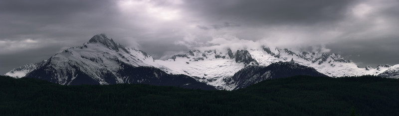 Moody Tantalus Mountains