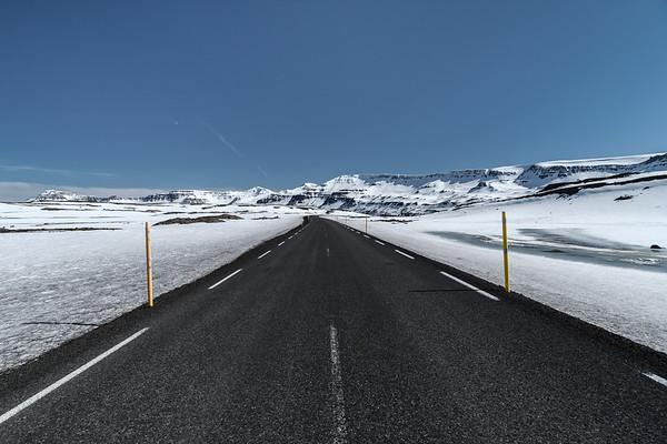Seydisfjordur Road