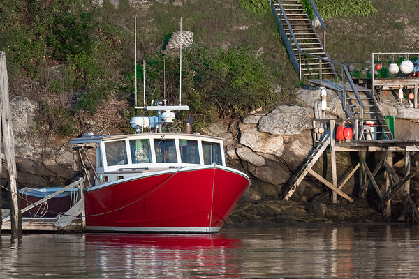 Lobster Boat in Maine
