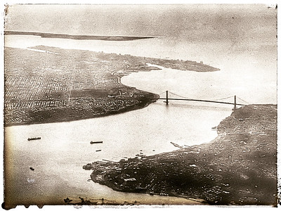 Verrazzano-Narrows Bridge, Plane View