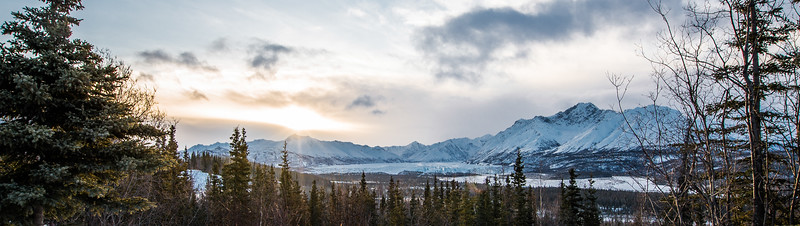 Matanuska Glacier, view from the Cabin Deck