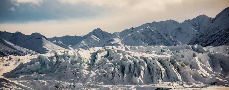 Matanuska Glacier closeup