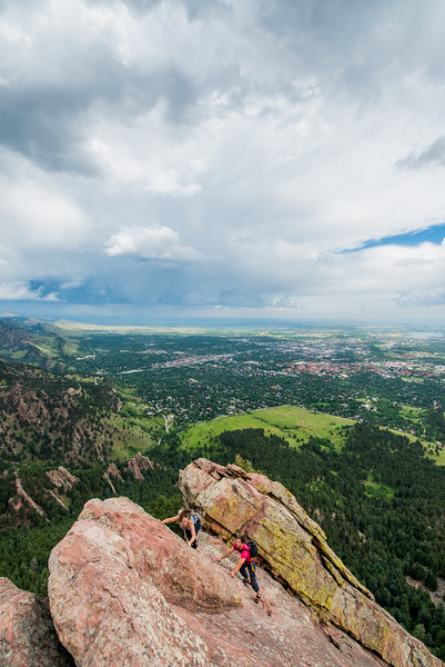 Flat Irons_Boulder_Colorado_photos by Gabe DeWittJune 27, 2014-342