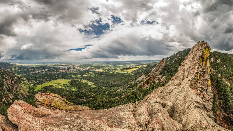Flat Irons_Panorama_by Gabe DeWitt