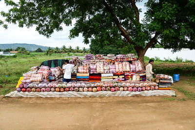 Roadside Cushion Vendors