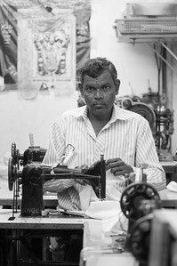Tailor - People of Karnataka, India