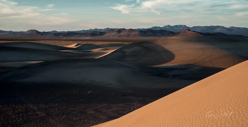 Shadows on the Dunes of Amargosa