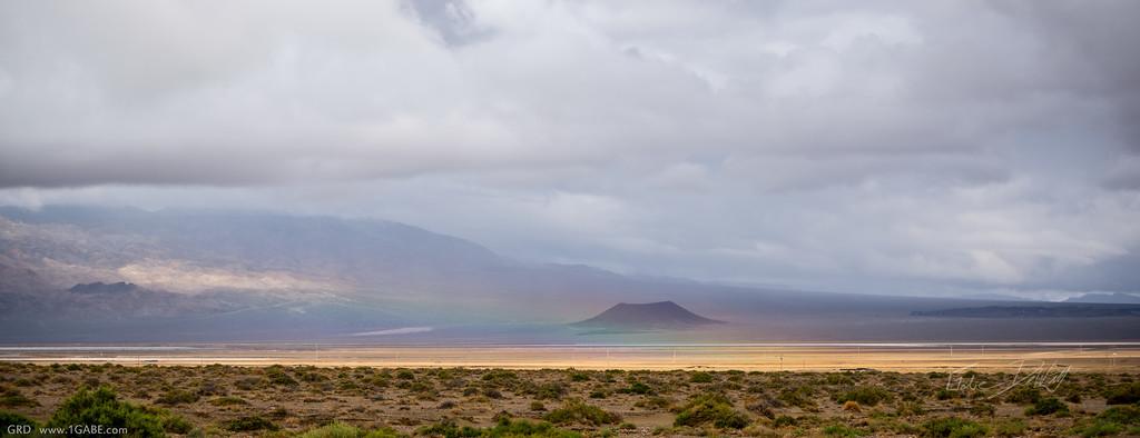 Volcano near Silver Peak, Nevada