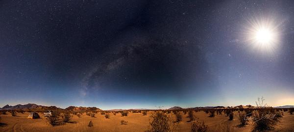 Camping by Big Dunes - 2014 (194 megapixels)