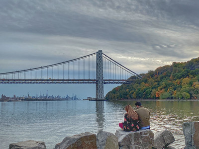 George Washington Bridge, Palisades Park, NJ