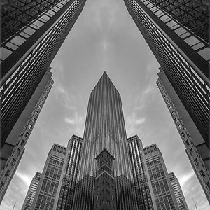 NYC Architecture Symmetry