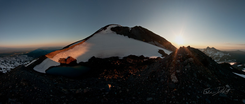 South Sister at Sunrise