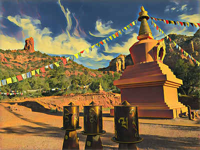 Amitabha Stupa and Peace Park, Sedona, AZ