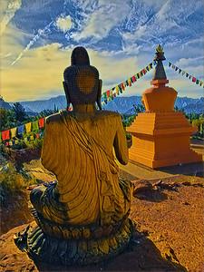 Amitabha Stupa and Peace Park, Sedona, AZ