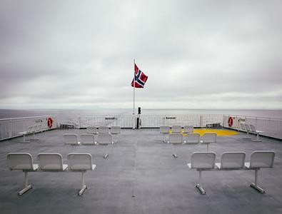 Bodø to Moskenes Ferry. Lofoten Islands, Norway 2015.