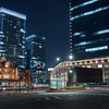 Tokyo Station by night
