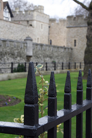 Fence at Tower of London
