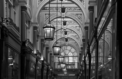 The Royal Arcade, London