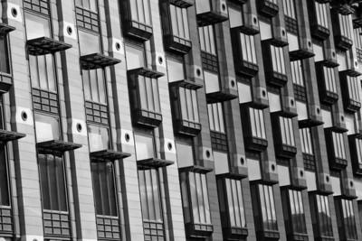 Office windows, London