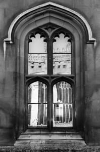 King's College Chapel reflection, Cambridge