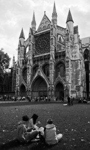 Westminster Abbey and grounds