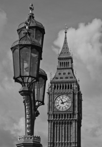 Lamp and Big Ben