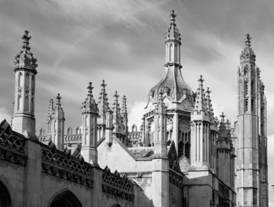 Spires, King's College, Cambridge