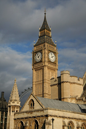 Clock Tower at Houses of Parliament