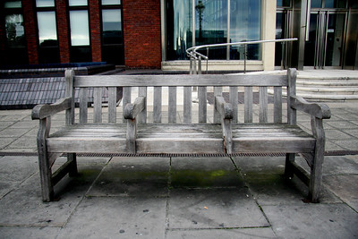 Bench, Thames Embankment