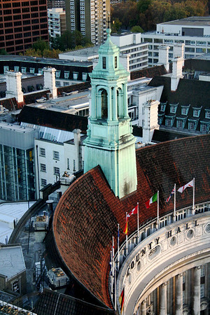 County Hall from London Eye