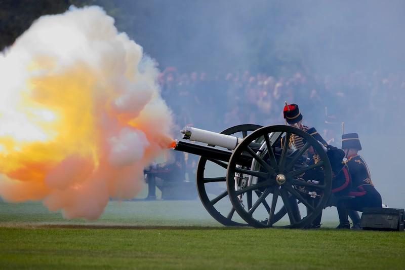 Royal Princess Gun Salute
