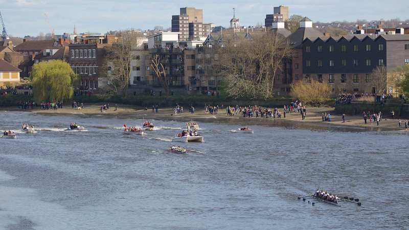 Women's Blue Boat Race Finish 2015
