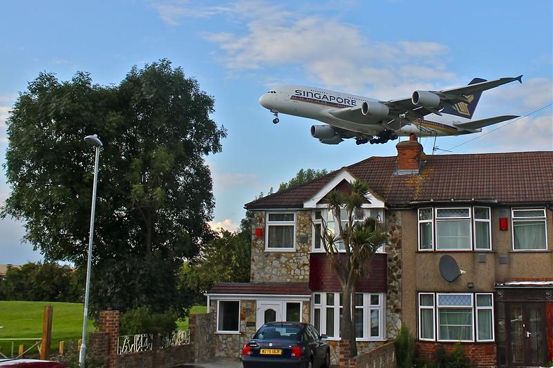 Heathrow Landing