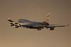 Heathrow Sunset take off 2014.