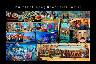 Poster--Murals of Long Beach