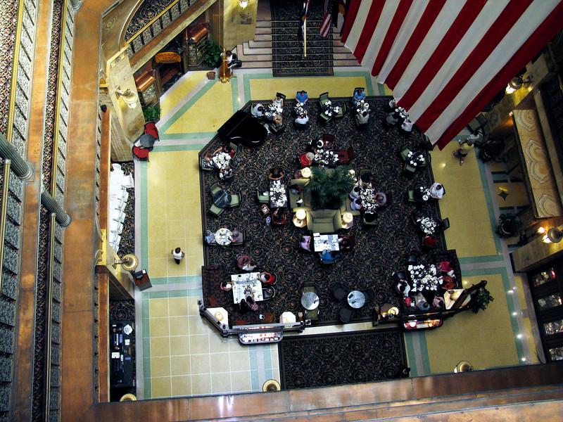 Grand Hotel Lobby - Denver Colorado