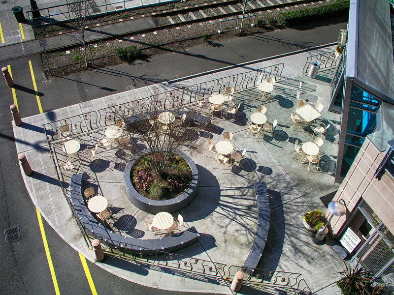 Outdoor dining - Seattle Washington