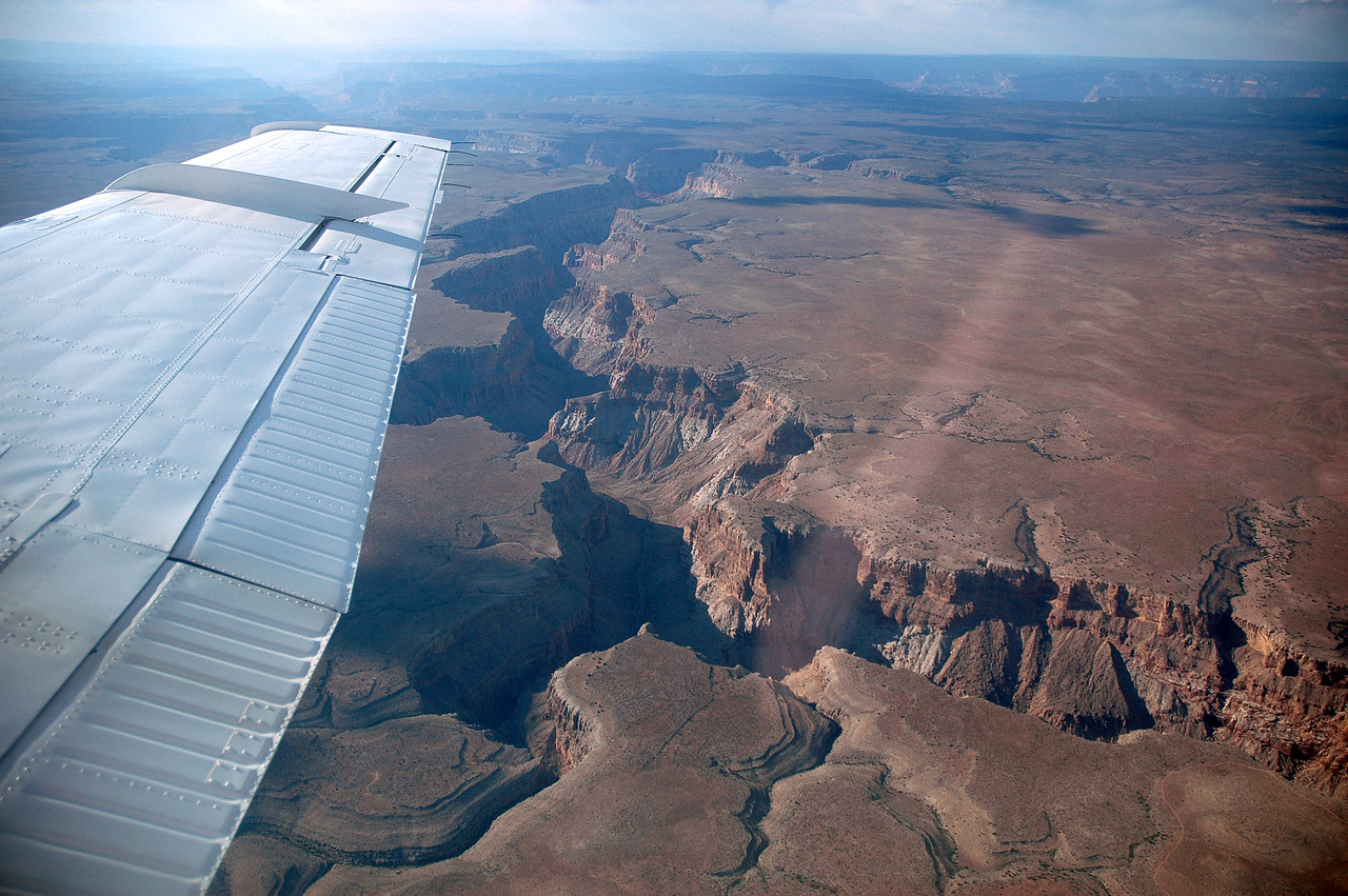 Flying from Vegas to the Grand Canyon