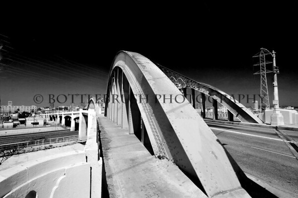 6th Street Bridge, Los Angeles.
