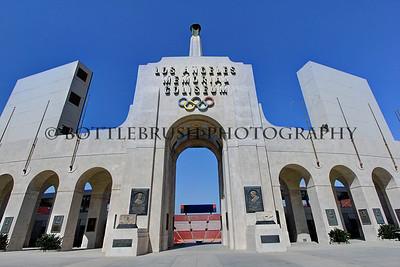 Los Angeles Memorial Coliseum.