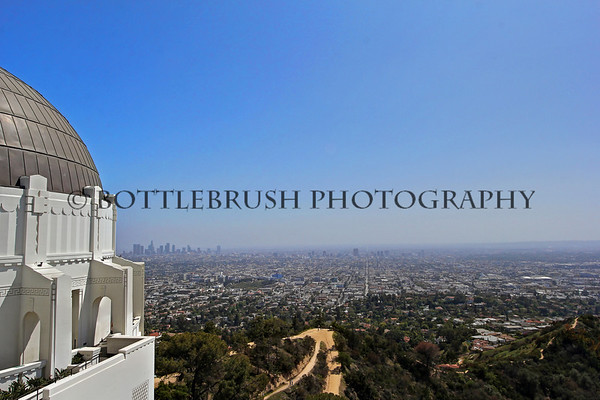 View of downtown LA from Griffith Park.