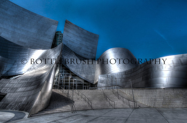 Disney Concert Hall, Los Angeles.