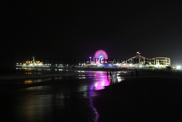 Santa Monica Pier - Night